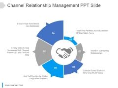 Channel Relationship Management Ppt Slide