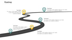 Channel Retailer Advertisement Management Roadmap Ppt Icon Structure PDF
