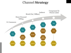 Channel Strategy Ppt PowerPoint Presentation Infographic Template Icon