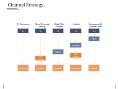 Channel Strategy Ppt PowerPoint Presentation Slides Visuals