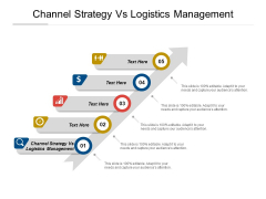 Channel Strategy Vs Logistics Management Ppt PowerPoint Presentation Gallery Example Cpb Pdf