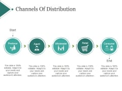 Channels Of Distribution Template 2 Ppt PowerPoint Presentation Examples