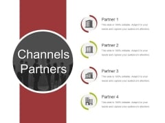 Channels Partners Ppt PowerPoint Presentation Infographics Elements