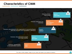 Characteristics Of CMM Ppt PowerPoint Presentation Pictures Introduction