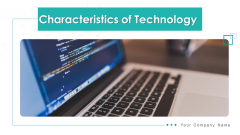 Characteristics Of Technology Data Encryption Ppt PowerPoint Presentation Complete Deck With Slides