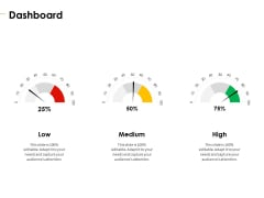 Charity Pitch Deck Dashboard Formats PDF