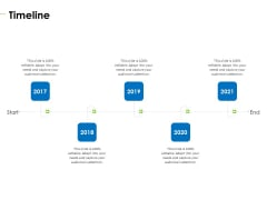 Charity Pitch Deck Timeline Professional PDF
