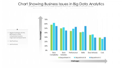Chart Showing Business Issues In Big Data Analytics Diagrams PDF