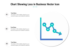 Chart Showing Loss In Business Vector Icon Ppt PowerPoint Presentation Gallery Pictures PDF