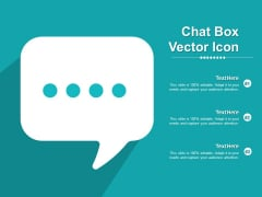 Chat Box Vector Icon Ppt PowerPoint Presentation Example 2015