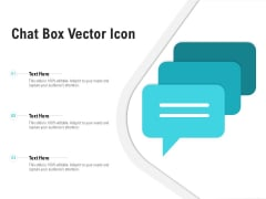 Chat Box Vector Icon Ppt PowerPoint Presentation Inspiration Maker
