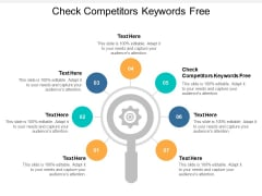 Check Competitors Keywords Free Ppt PowerPoint Presentation Portfolio Styles Cpb