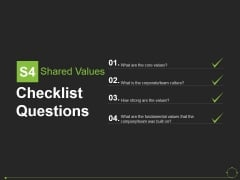 Checklist Questions Template 3 Ppt PowerPoint Presentation Show Smartart