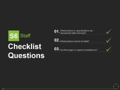 Checklist Questions Template 5 Ppt PowerPoint Presentation Professional Influencers