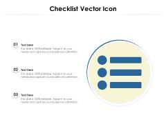 Checklist Vector Icon Ppt PowerPoint Presentation File Mockup PDF