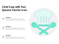Chef Cap With Two Spoons Vector Icon Ppt PowerPoint Presentation Model Format PDF