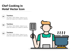 Chef Cooking In Hotel Vector Icon Ppt PowerPoint Presentation Styles Graphic Images PDF