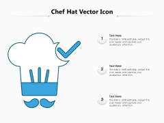 Chef Hat Vector Icon Ppt PowerPoint Presentation Gallery Designs PDF