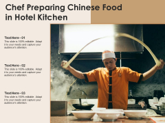 Chef Preparing Chinese Food In Hotel Kitchen Ppt PowerPoint Presentation Outline Microsoft PDF