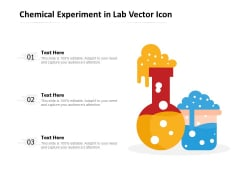 Chemical Experiment In Lab Vector Icon Ppt PowerPoint Presentation Gallery Structure PDF