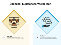 Chemical Substances Vector Icon Ppt PowerPoint Presentation File Model PDF