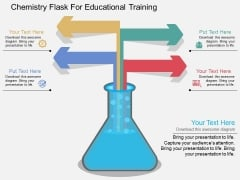 Chemistry Flask For Educational Training Powerpoint Template