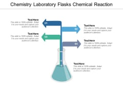 Chemistry Laboratory Flasks Chemical Reaction Ppt PowerPoint Presentation Slides Deck
