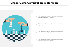Chess Game Competition Vector Icon Ppt PowerPoint Presentation Professional Layout Ideas