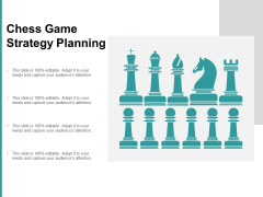 Chess Game Strategy Planning Ppt PowerPoint Presentation Pictures Outline