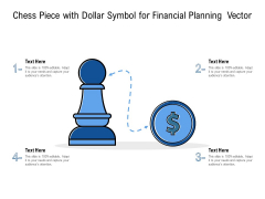 Chess Piece With Dollar Symbol For Financial Planning Vector Ppt PowerPoint Presentation Layouts Show