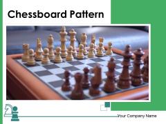 Chessboard Pattern Strategic Chessboard Ppt PowerPoint Presentation Complete Deck