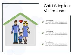Child Adoption Vector Icon Ppt PowerPoint Presentation Summary Skills PDF