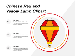 Chinese Red And Yellow Lamp Clipart Ppt PowerPoint Presentation Gallery Clipart PDF
