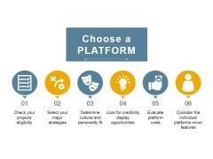 Choose A Platform Ppt PowerPoint Presentation Outline Ideas