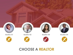 Choose A Realtor Ppt PowerPoint Presentation Shapes