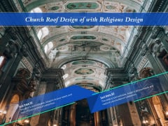 Church Roof Design Of With Religious Design Ppt PowerPoint Presentation Gallery Microsoft PDF
