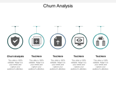 Churn Analysis Ppt PowerPoint Presentation Outline Example Cpb
