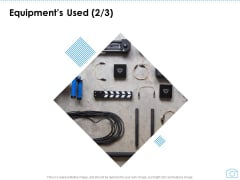 Cinematography Project Proposal Equipments Used Wires Ppt Gallery Images PDF
