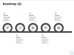 Cinematography Project Proposal Roadmap Five Stages Ppt Professional Show PDF