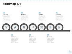 Cinematography Project Proposal Roadmap Seven Stages Ppt Slides Portrait PDF