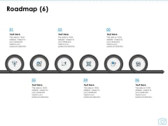 Cinematography Project Proposal Roadmap Six Stages Ppt Pictures Example PDF