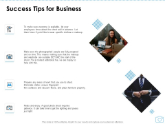 Cinematography Project Proposal Success Tips For Business Ppt Layouts Structure PDF