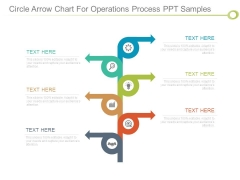 Circle Arrow Chart For Operations Process Ppt Samples