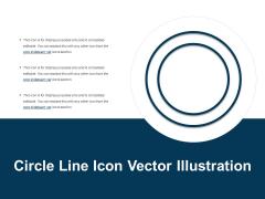 Circle Line Icon Vector Illustration Ppt PowerPoint Presentation Icon Diagrams PDF