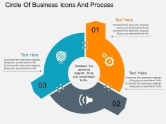 Circle Of Business Icons And Process Powerpoint Templates