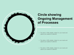 Circle Showing Ongoing Management Of Processes Ppt Powerpoint Presentation Show Slide
