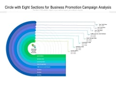 Circle With Eight Sections For Business Promotion Campaign Analysis Ppt PowerPoint Presentation Gallery Ideas PDF