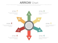 Circular Arrows Design With Icons For Business Powerpoint Slides