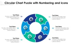 Circular Chart Puzzle With Numbering And Icons Ppt PowerPoint Presentation File Topics PDF