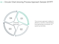 Circular Chart Showing Process Approach Ppt PowerPoint Presentation Backgrounds
